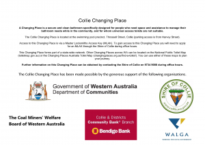Website Info Changing Place